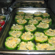 Cheesy Stuffed Pepper Rings