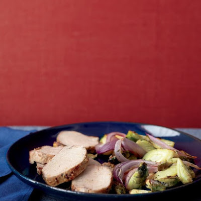 Pork Tenderloin with Roasted Fall Vegetables
