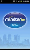 Screenshot of 104.7 Minster FM