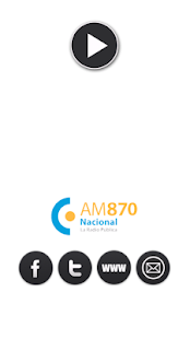 Radio Nacional AM 870 - screenshot