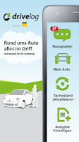 Screenshot of Drivelog - alles rund ums Auto