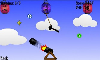 Screenshot of Bungee Ninja Lite