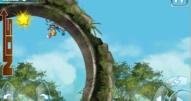 Screenshot of Motocross trial - Xtreme bike