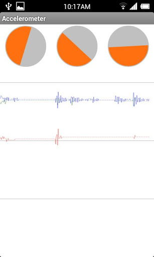 very simple Accelerometer