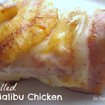 Grilled Malibu Chicken
