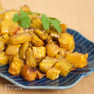 Oven Roasted Golden Beets