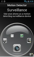 Screenshot of Motion Detector Pro