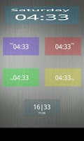 Screenshot of Nice Simple Clock (Widget)
