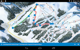 Screenshot of Ski amadé Guide