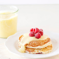 Lemon Raspberry Pancakes