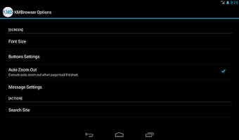 Screenshot of KMBrowser Lite