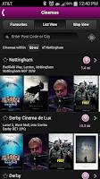 Screenshot of Showcase Cinemas UK
