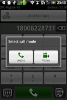 Screenshot of Global Cell Calls