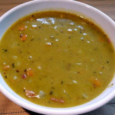 Pressure Cooker Split Pea and Ham Soup