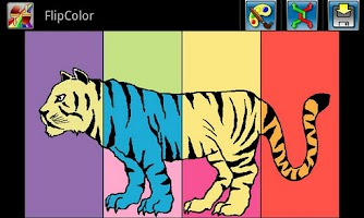 Screenshot of FlipColor Free