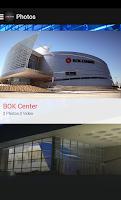 Screenshot of BOK Center