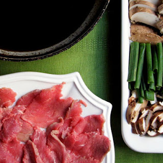 Traditional Sukiyaki (Japanese Beef Hot Pot)