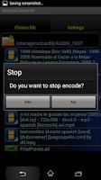 Screenshot of Video converter mp4 Aencoder