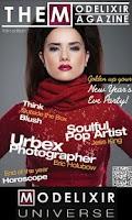 Screenshot of The Modelixir Fashion Magazine