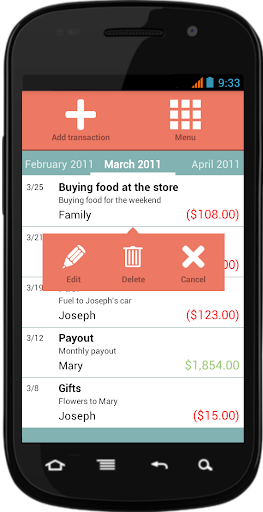 Supermon Finance Manager - screenshot