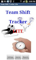 Screenshot of Team Shift Tracker Lite