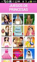 Screenshot of Juegos de Princesas