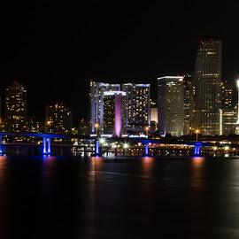 Made in Dade by Jose Gort - City,  Street & Park  Night ( , Urban, City, Lifestyle )