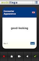 Screenshot of Englisch Wortschatz (GB)