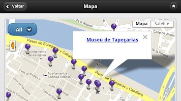 Screenshot of Zaragoza Audioguia, Espanha