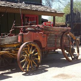 Old west! by Mark Schlicher Sr. - Landscapes Deserts