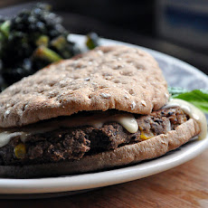 Around the World Black Bean Burgers