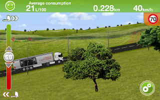 Screenshot of Truck Fuel Eco Driving