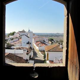 Alentejo from a castle by João Ascenso - City,  Street & Park  Vistas