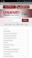 Screenshot of Hagyard Mobile Formulary