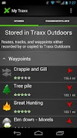 Screenshot of Traxx Outdoors