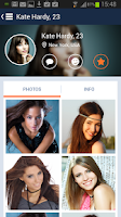 Screenshot of WB Dating – live flirting!