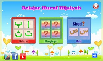 Screenshot of Belajar Huruf Hijaiyah