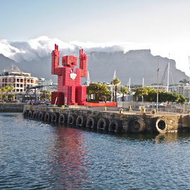 The Waterfront, Cape Town, South Africa, lego by Cecil Schneider - Landscapes Travel ( south africa, waterfront, cape town )