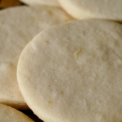 Lemon and Vanilla Bean White Sugar Cookies