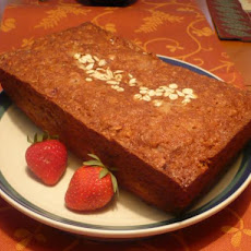 Gluten-Free Strawberry Banana Loaf