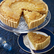 Stem Ginger & Treacle Tart