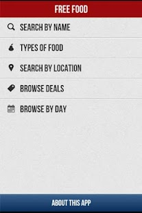 Free Food- restaurant deals - screenshot
