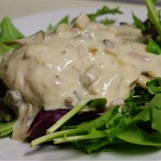 Sour Cream Mushroom Chicken