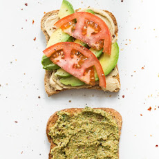 Ultimate 4-Layer Vegan Sandwich
