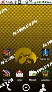 Iowa Hawkeyes Live Wallpaper - screenshot