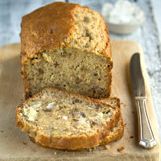Easy Banana Bread With Walnuts