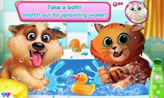 Screenshot of Kitty & Puppy: Love Story