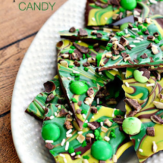 Chocolate Mint Candy Bark