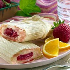 Strawberry Tamales