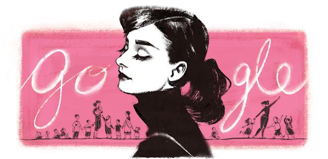 Audrey Hepburn Doodle